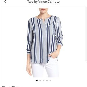 Two by Vince Camino stripes blouse - XL